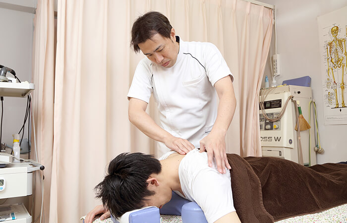 豊富な電気治療器を駆使した治療